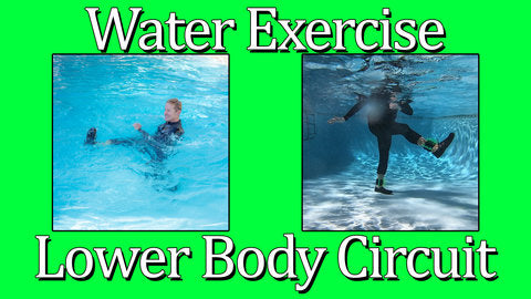Water Exercise Lower Body Circuits