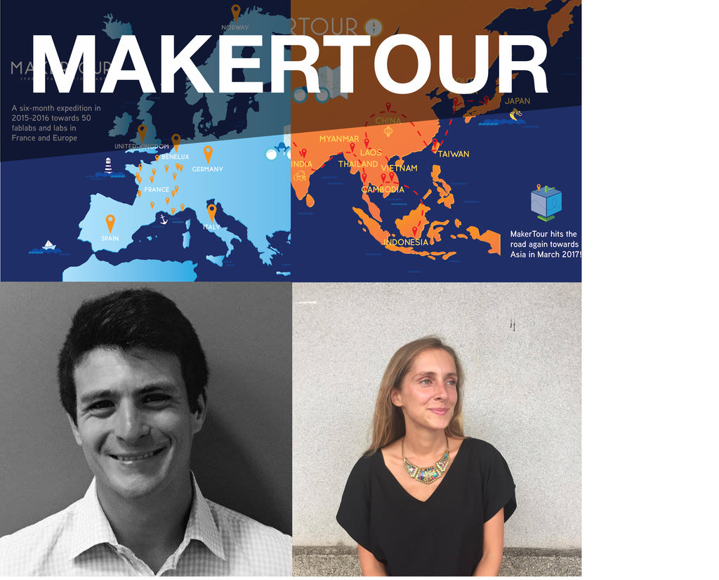 "20170902 ""MakerTour"" Talk by Marie Levrault and Lucas Graffan"