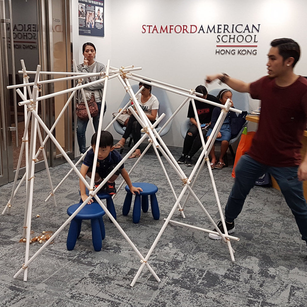 """Performative Architecture"" workshop with Stamford American International School"