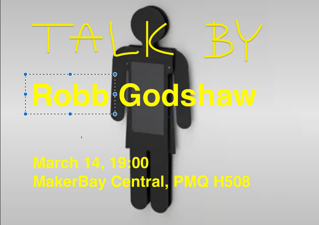"Talk: Robb Godshaw ""absurdity of gender binary"", March 14th 2019 19:00 PMQ"