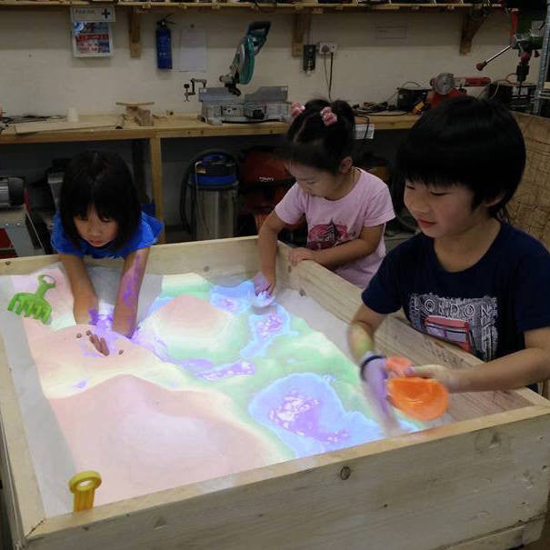 Augmented Reality Sandbox at MakerBay