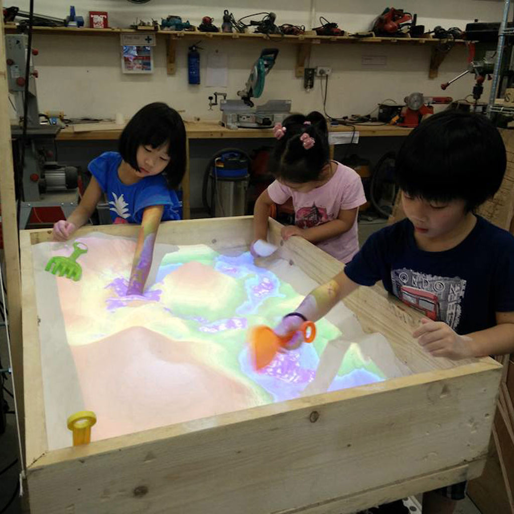 AR Sandbox | #Geography #Education #AR