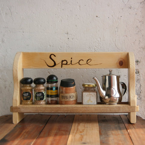 Wood Jamming Series: Spice Rack