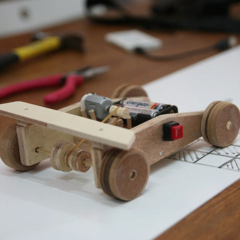 Kids Make Series: Wooden Car