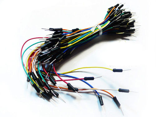 Breadboard Jumper Wire Pack (200mm/165mm/125mm)