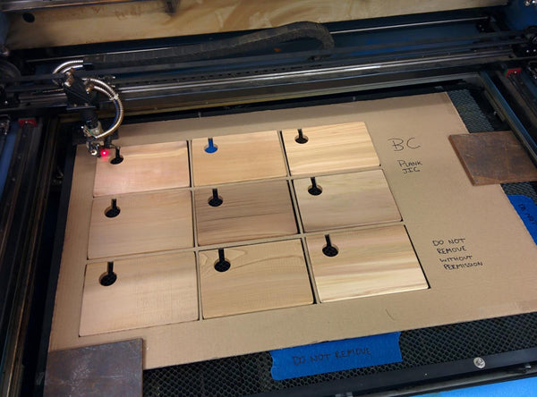 Laser Wood Plank | #Digital #Fabrication #Food