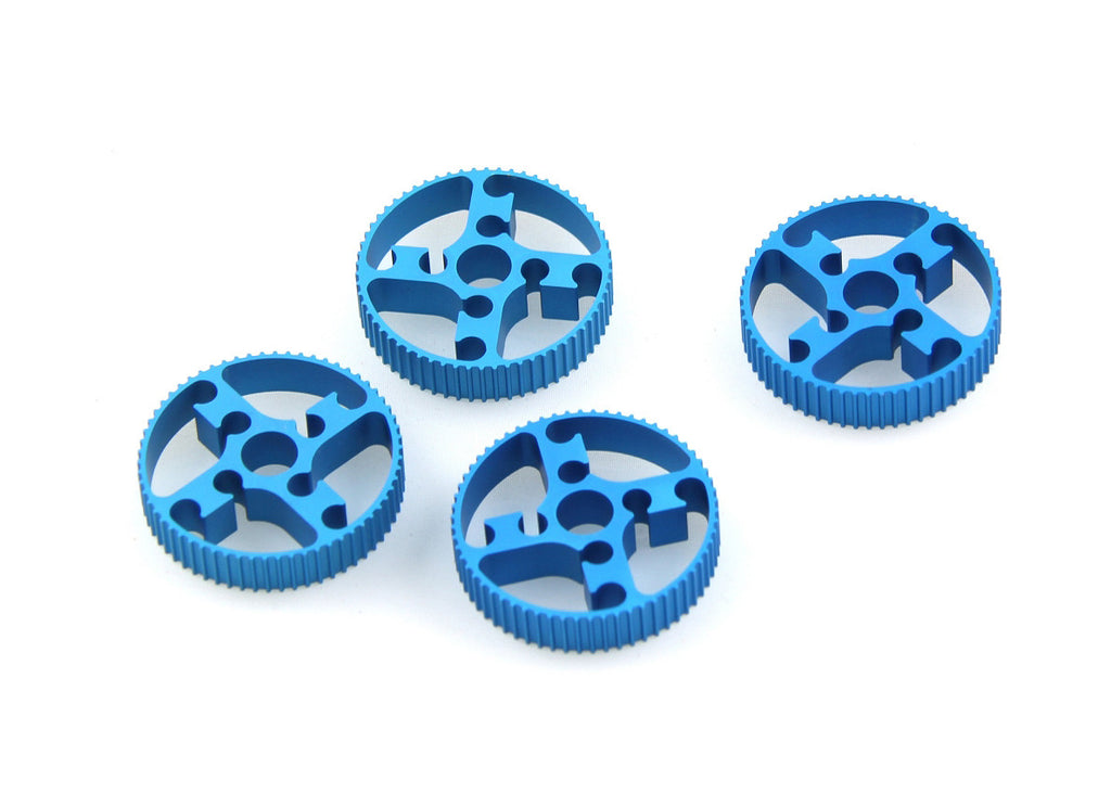 Timing Pulley 62T-Blue (4-Pack)