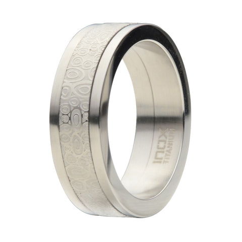 Titanium Spinner Ring