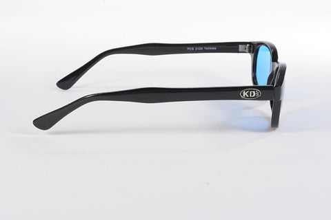 KD Original KD/'s TURQUOISE LENS Sunglasses Motorcycle Glasses /& Pouch 2129