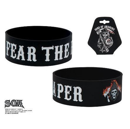"Sons of Anarchy ""FEAR THE REAPER"" Silicone Bracelet"
