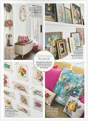 Decorating with Vintage Florals