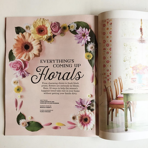 Flora Forager In Country Living Magazine