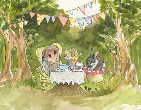 Owl and Rabbit's Party