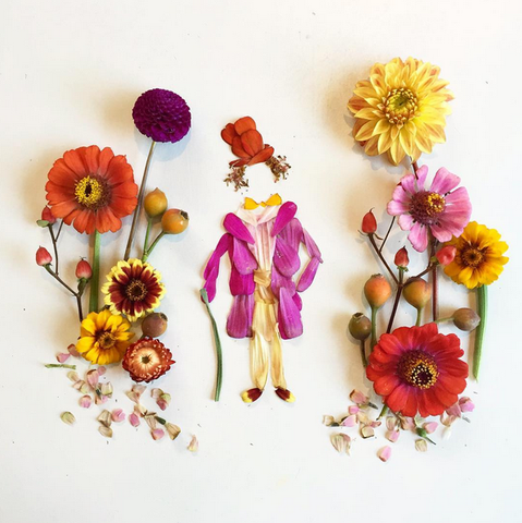 Willy Wonka-Flora Forager painter & botanical artist
