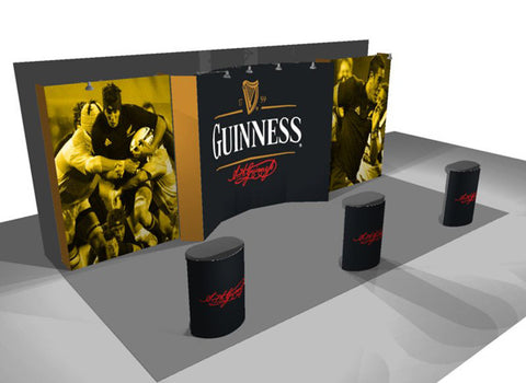 VBurst 10'x20' Display Kit A (To Fill a 20' Wide Space)