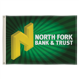 4' x 6' Full-Color Single-Sided Flag