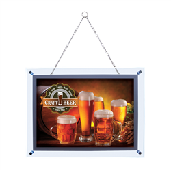 "14"" x 20"" Crystal Edge LED Displays (Click for Options Below)"