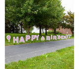 Happy Birthday Yard Cards - Free ground shipping