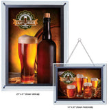 "25"" x 31"" Crystal Edge LED Displays (Click for Options Below)"