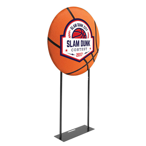 Slam Dunk EZ Extend Circle 3ft. - Double-Sided Graphic Package