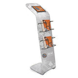 EuroFit iPad® and Literature Fabric Stand Kit