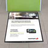 FloorWindo® Poster Display
