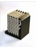 5 Steps Literature Holder - folds with literature already in place!