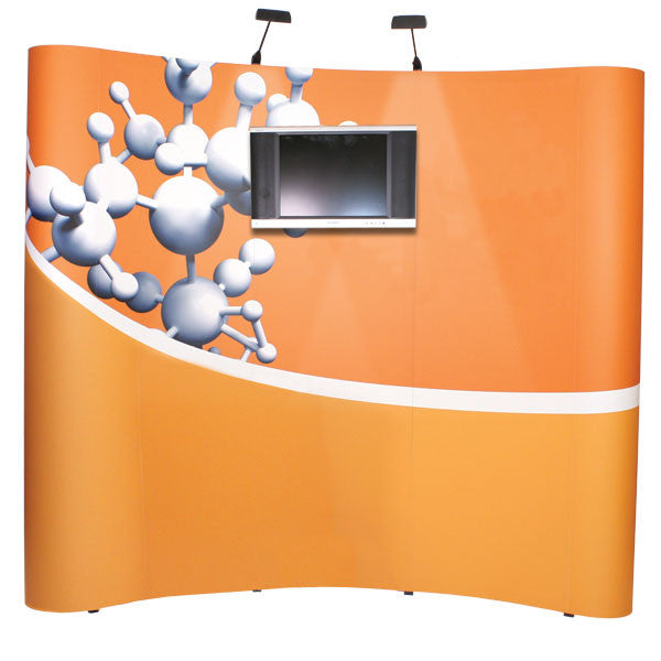 PopUp Display Kit 1 for 10' Wide Space with Monitor Mount