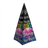 Spectrum Pyramid Fabric Display Kit