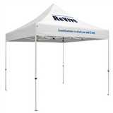 Standard 10 x 10 Event Tent Kit (Full-Color Thermal Imprint, 2 Locations)