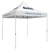 Standard 10 x 10 Event Tent Kit (Full-Color Thermal Imprint, 4 Locations)