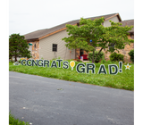 Congrats Grad Yard Cards - Free ground shipping