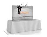 "Coyote Mini Tabletop Kit for 8' Table - Footprint dimensions: 77.5""w x 48.25""h x 16.25""d"
