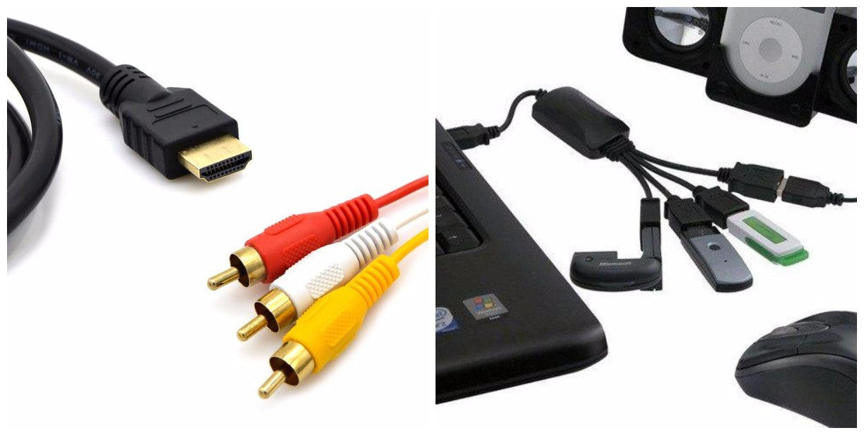 Interconnecting Phones, Laptops & TVs Is Easy With These Unglamourous But Powerful Cables & Adaptors
