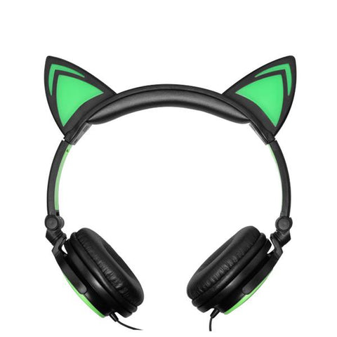 cat eared headphones
