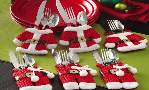 christmas cutlery set