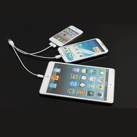 3 in 1 Cable for iPhone, ipad and Android
