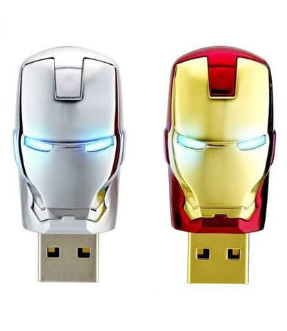 ironman storage drive usb flashdrive