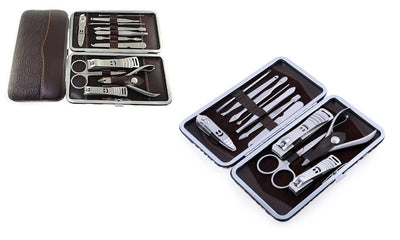 Deluxe Manicure and Pedicure Set (13-Piece)