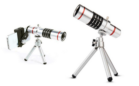 18x Smartphone Telescope Lens with Universal Clip
