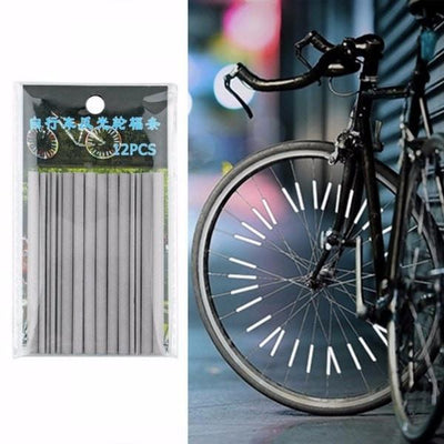 24Pcs Warning Strip Bike Reflector