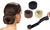 Bun Maker Doughnut Hair Styling Tool - 3 pcs pack