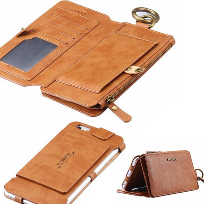 2-in-1 Wallet Case for iPhone 6/6s/ 6 plus and iPhone 7 / 8 and 7/8 plus