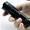2000LM Mini Waterproof Tactical Adjustable Focus Flashlight