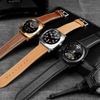 Charger - Luxurious Smart Watch With Classy Leather Straps & Touch Screen