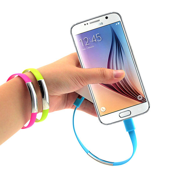 21cm Creative Bracelet Cables for Android Phones