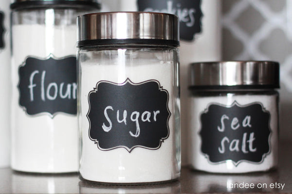 36 Handy Chalkboard Labels