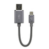 2-in-1 Zappr MFi Flash Drive Charging Cable - (USA Only)