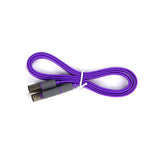 2in1 USB & 8PIN Lightning Noodle Cable -1m
