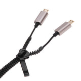 2in1 Zipper iPhone 6/5&Android phone USB Cable
